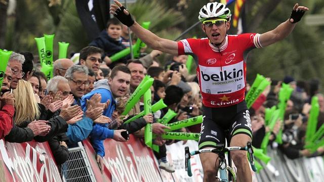 Belkin-renner Clement wint zesde etappe Ronde van Catalonië