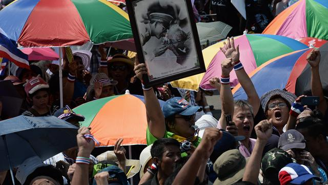 Dode en gewonden bij betoging Thailand