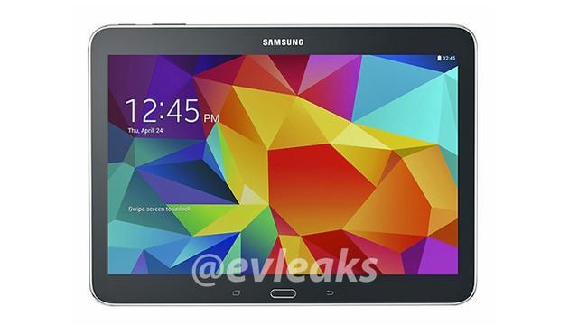Ook afbeeldingen 10-inch Galaxy Tab 4 gelekt