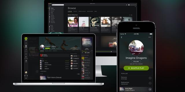 Spotify brengt donkerder ontwerp naar Android