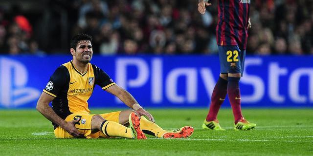 Atletico mist Diego Costa, Bayern begint met Robben