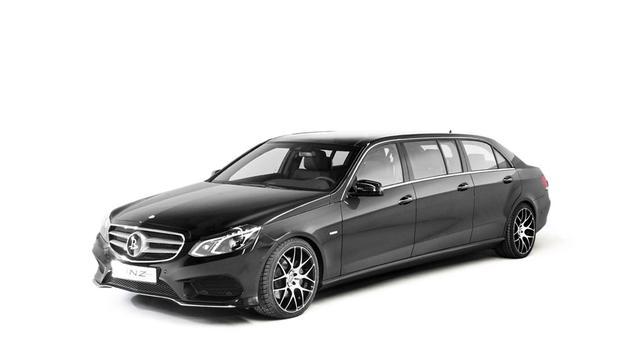 Binz presenteert zesdeurs Mercedes E-klasse