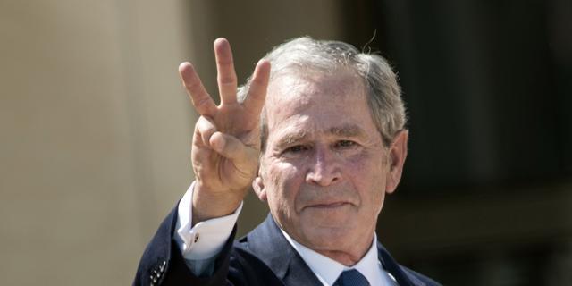 Oud-president George W. Bush maakt portretten van wereldleiders