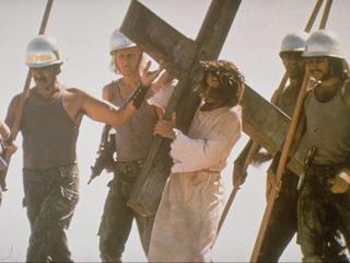 Muzikanten maken hun opwachting in de musical over de laatste levensweek van Jezus