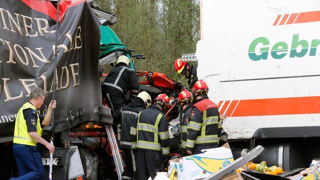 A67 Geldrop weer open na ernstig ongeluk