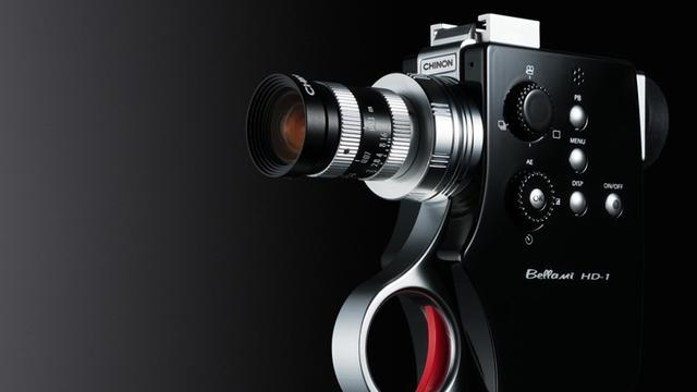 Japanse hd-camera geïnspireerd op Super 8-camera