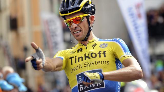 Contador slaat direct toe in eerste rit Ronde van Baskenland