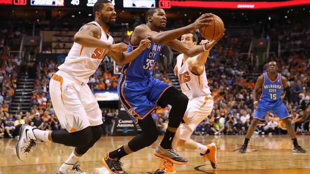Durant verbetert scorereeks Jordan in NBA