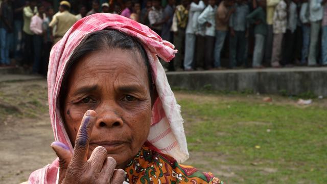 Grootste verkiezingen ter wereld begonnen in India