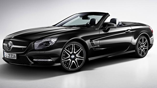 Mercedes presenteert SL 400