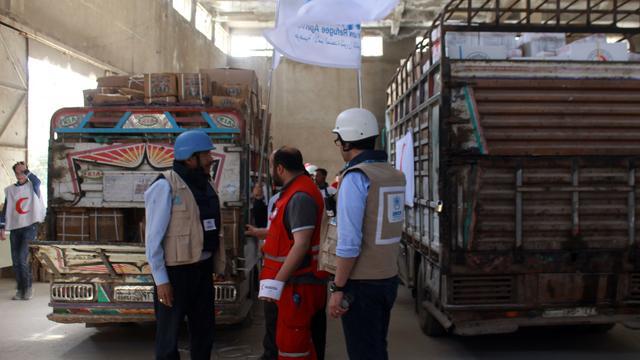 Voedselhulp aan Syrië gedwongen verminderd