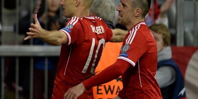 Bayern München na winst tegen United naar halve finales