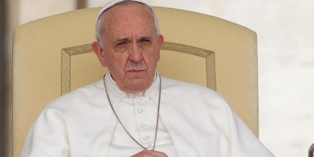 Paus spreekt van Derde Wereldoorlog