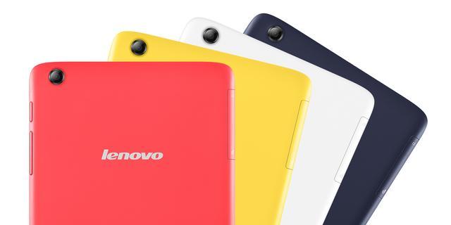 Lenovo kondigt kleurrijke budget-tablets aan