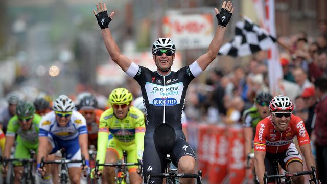 Petacchi sprint naar winst in GP Pino Cerami