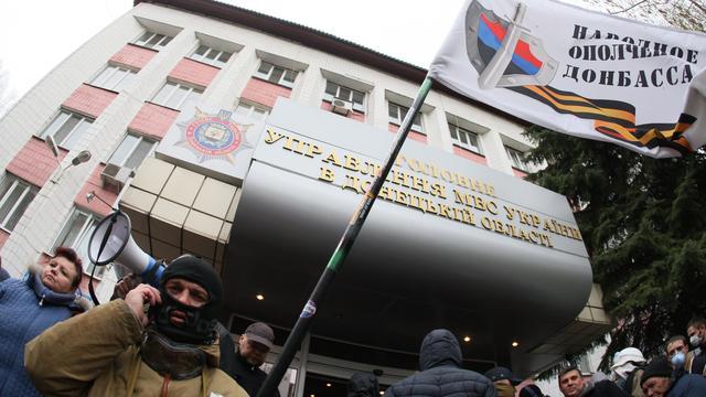 Politiechef Donetsk stapt op