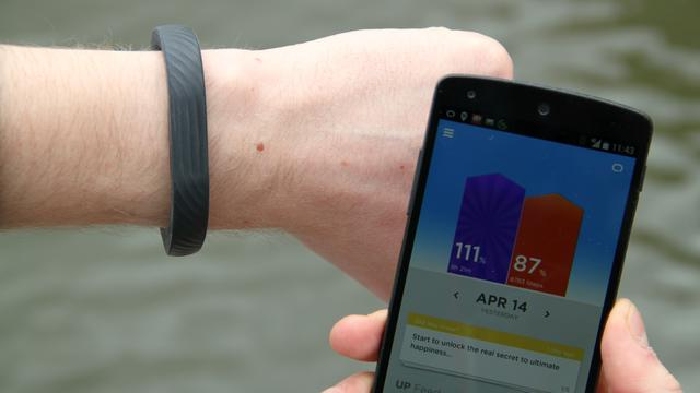 Jawbone Up24: Hippe fitnesstracker met kleurrijke app