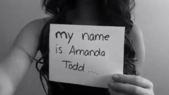 Digitaal onderzoek in zaak-Amanda Todd blijkt lastig