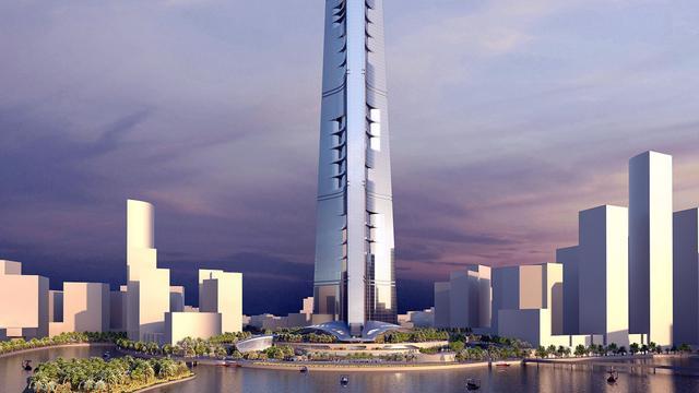 Kone levert liften 's werelds hoogste toren