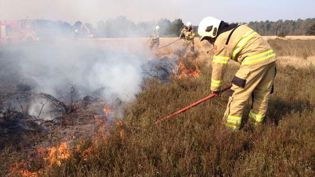 Natuurbrand vergt nog wat nabluswerk