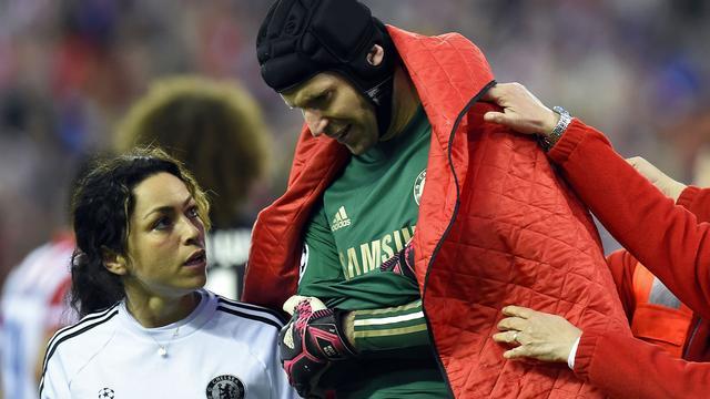 Defensief Chelsea mist Cech tegen Atletico, Van Ginkel op bank