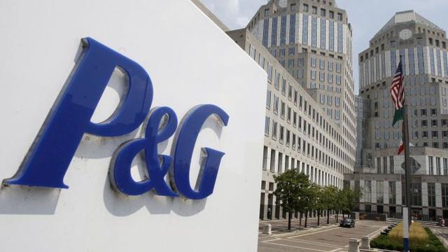 Bescheiden omzetgroei bij Procter & Gamble