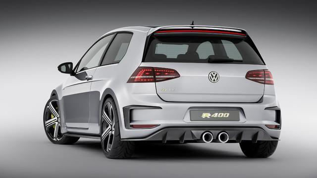 Volkswagen start met testen Golf R400