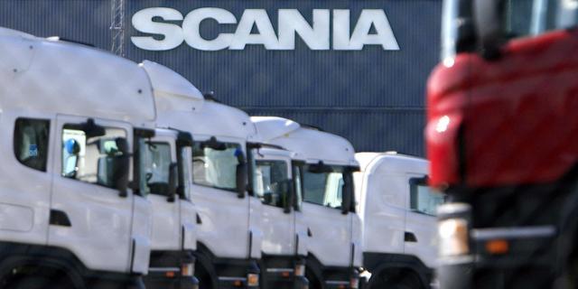 Honderden medewerkers Scania in Zwolle leggen vrijdag werk neer