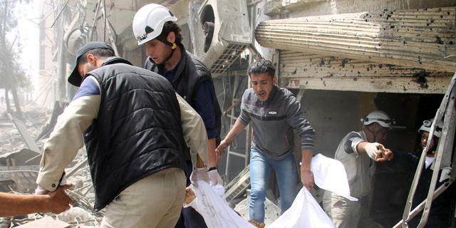 Dodental oorlog Syrië boven de 162.000