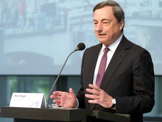 Centralebankpresident blijft bereid komende maand in actie komen