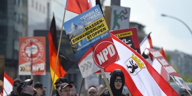 Duits hof onderzoekt verbod extreemrechtse partij NPD
