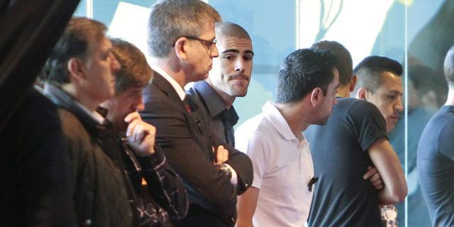 Spelers Barcelona rouwen om Vilanova