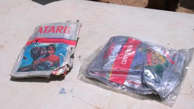 Eerste opgegraven E.T-games op Ebay gezet