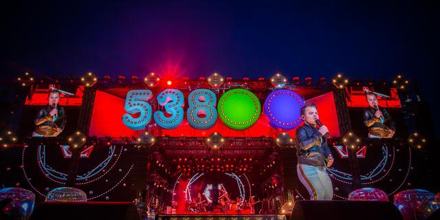 Koningsdagfeest Radio 538 trekt 40.000 bezoekers