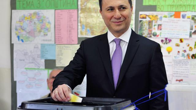 Premier Macedonië wint verkiezingen