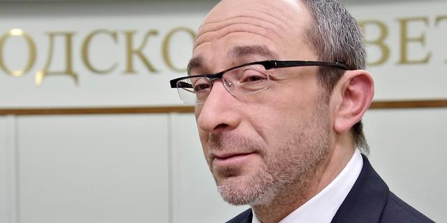 Burgemeester Charkov in zijn rug geschoten