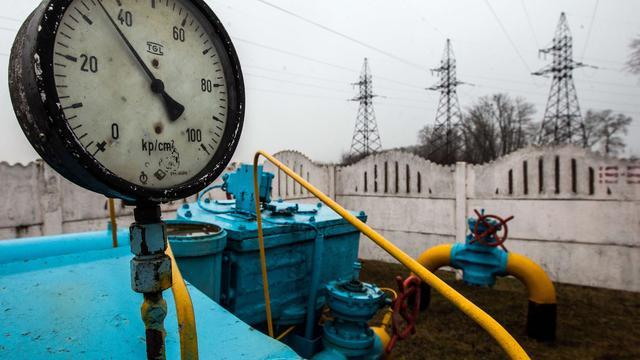 Oekraïne klaagt over gaslevering Rusland