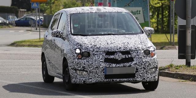 Opel test met opvolger voor Agila