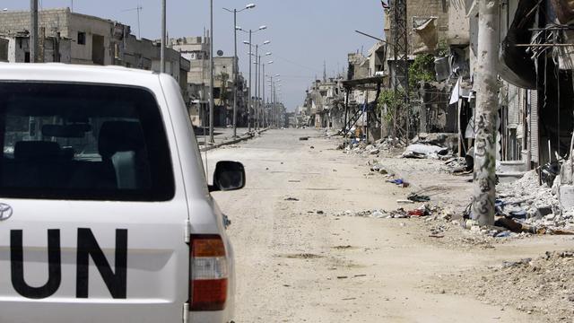 Laatste deel chemicaliën Syrië 'onbereikbaar' door geweld