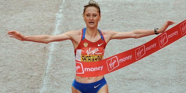 Marathonloopster Sjoboesjova geschorst wegens doping