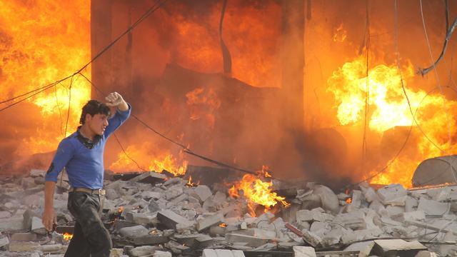 Tientallen doden door bom in tunnel Syrië