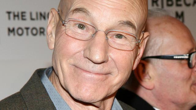 Patrick Stewart heeft de hoofdrol in The Green Room