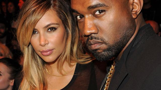 Instagram-record voor trouwfoto Kim Kardashian