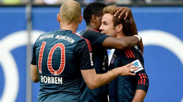 Bayern München vergroot degradatiezorgen Hamburger SV