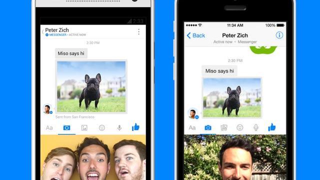 Facebook dwingt alle leden Facebook Messenger te gebruiken