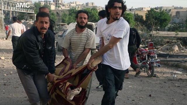 Weer bloedige gevechten in en rond Aleppo