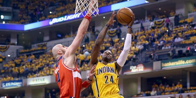 Slechte start Indiana Pacers tegen Washington Wizards