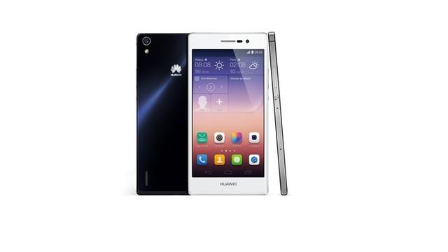 Huawei presenteert dunne Ascend P7 met 5 inch-scherm