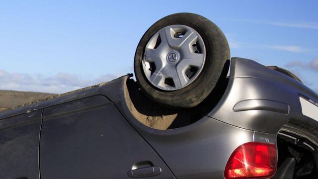 Meerdere auto-ongelukken in Salland