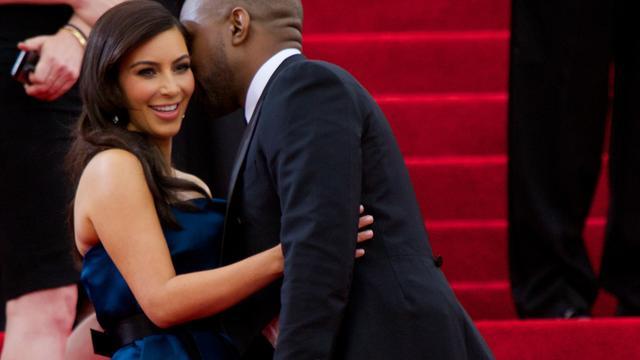 'Kim en Kanye trouwen niet deze week'